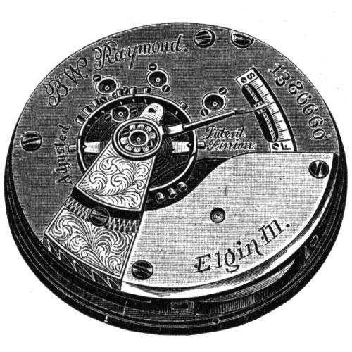 Elgin Pocket Watch Grade 70 #3423748