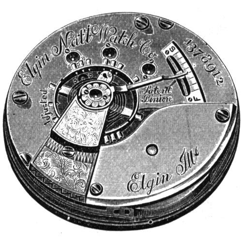 Elgin Grade 80 Pocket Watch Image