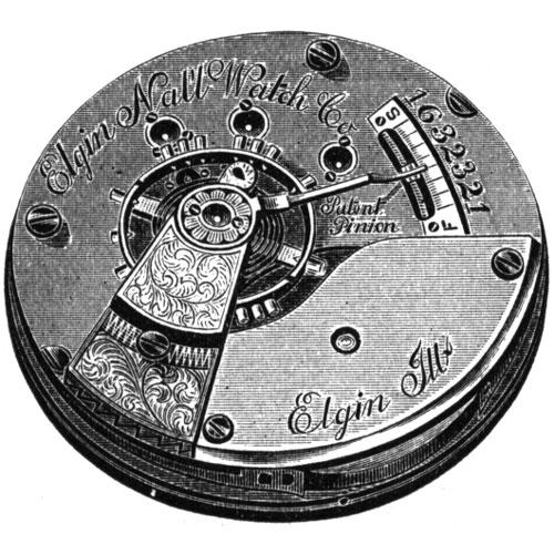 Elgin Grade 82 Pocket Watch Movement