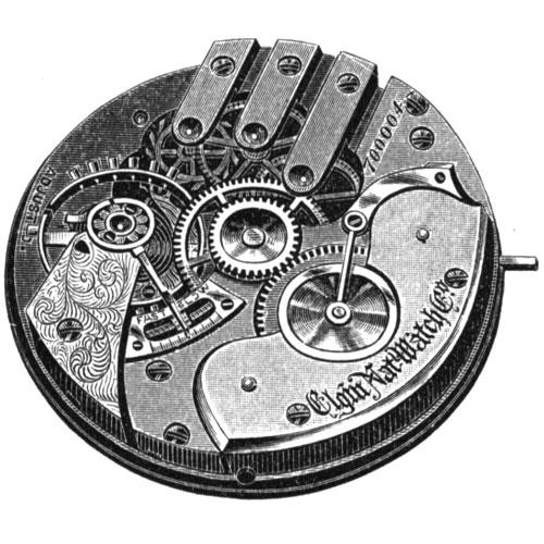 Elgin Grade 85 Pocket Watch Image