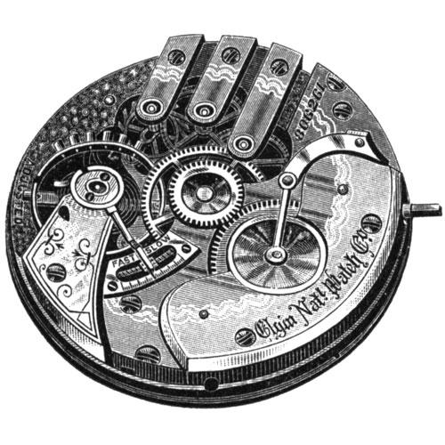 Elgin Pocket Watch Grade 86 #4907141