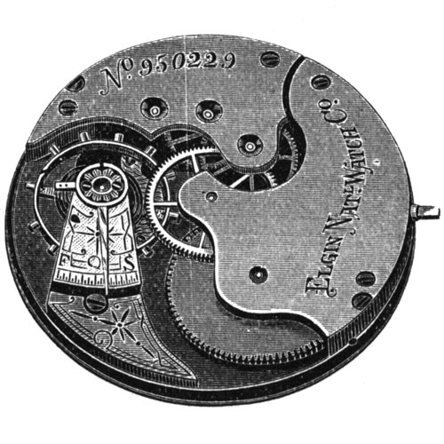 Elgin Pocket Watch Grade 92 #2400987