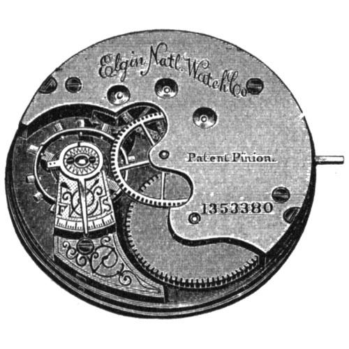 Elgin Grade 94 Pocket Watch Movement