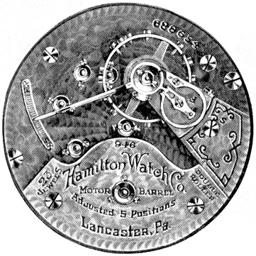Hamilton Grade 946 Pocket Watch Image