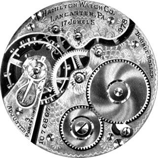 Hamilton Pocket Watch Grade 978 #1331992