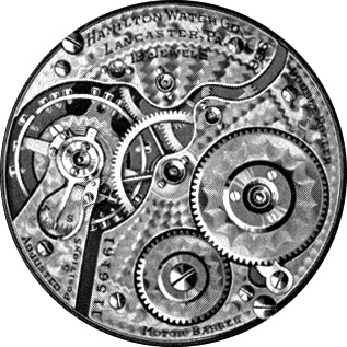 Hamilton Pocket Watch Grade 996 #1525002