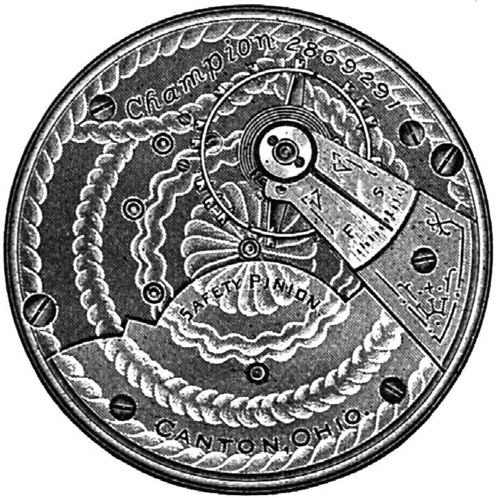 Hampden Pocket Watch Grade Champion #1357374