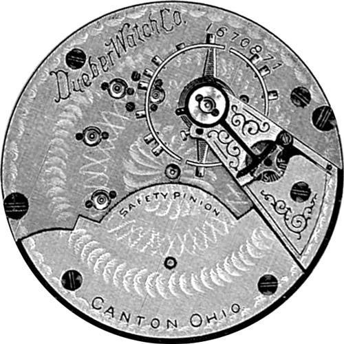 Hampden Pocket Watch Grade Dueber Watch Co. #3100824