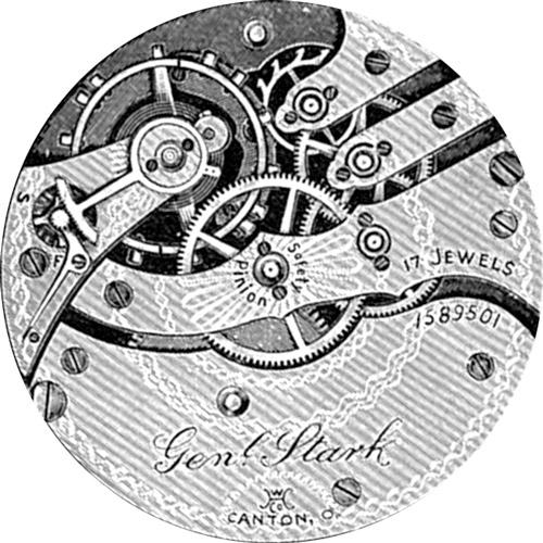 Hampden Grade Gen'l Stark Pocket Watch