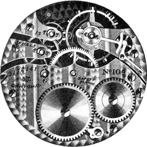 Hampden Pocket Watch Grade No. 109 #3548099