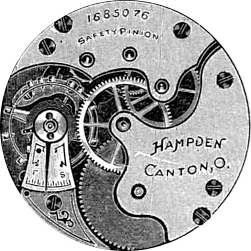 Hampden Grade No. 200 Pocket Watch Image