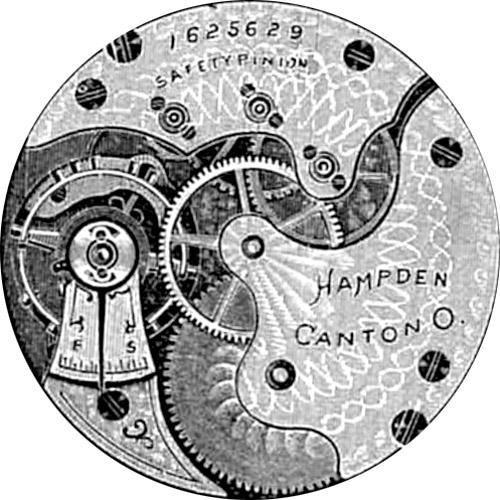 Hampden Pocket Watch Grade No. 213 #516106
