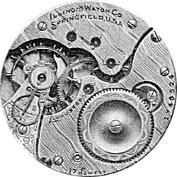 Illinois Pocket Watch Grade 175 #1309022