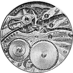 Illinois Grade 228 Pocket Watch Image