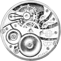 Illinois Pocket Watch Grade 306 #3704868