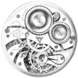 Illinois Grade 405 Pocket Watch Movement