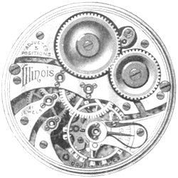 Illinois Grade 409 Pocket Watch