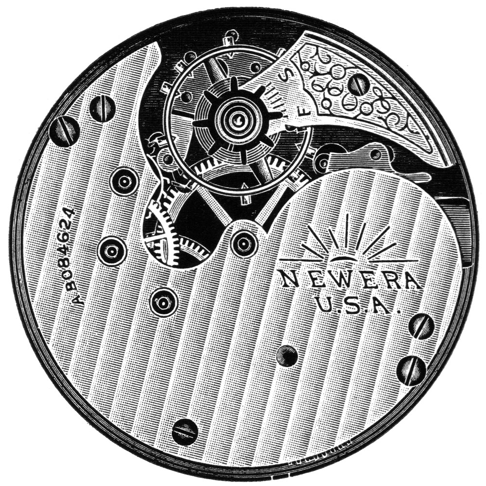 New York Standard Watch Co. Grade New Era 61 Pocket Watch Image