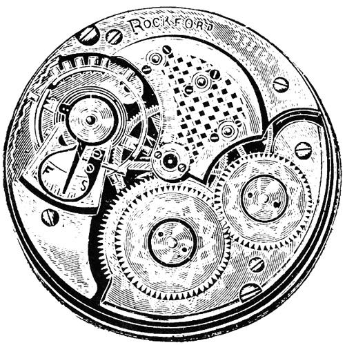 Rockford Pocket Watch Grade 100 #384404
