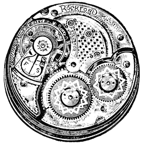 Rockford Grade 102 Pocket Watch Image