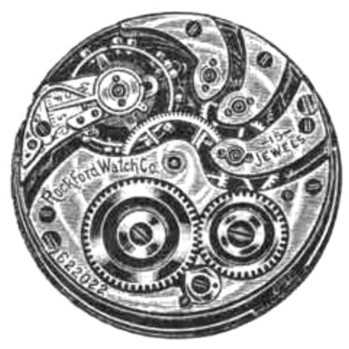 Rockford Pocket Watch Grade 160 #651025