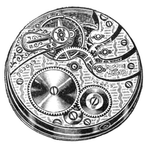 Rockford Grade 572 Pocket Watch Image