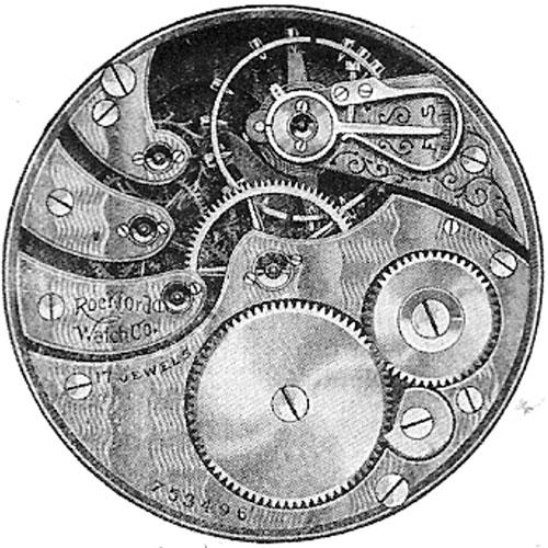 Rockford Pocket Watch Grade 573 #677400
