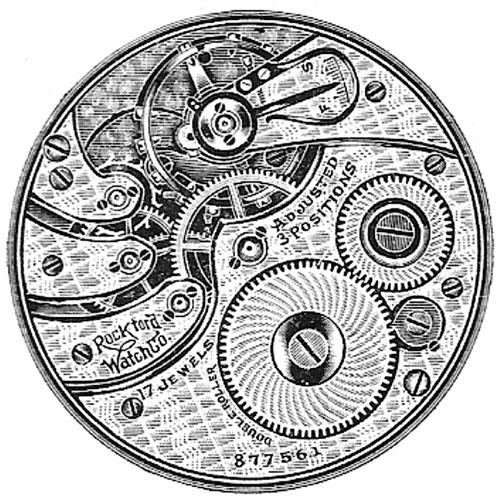 Rockford Grade 675 Pocket Watch Image