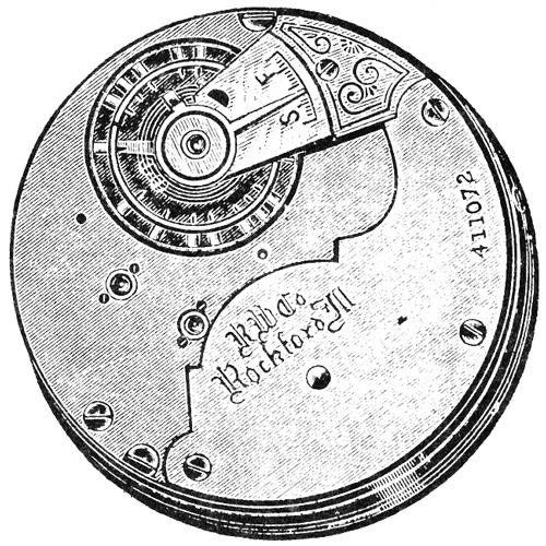 Rockford Grade 94 Pocket Watch Image