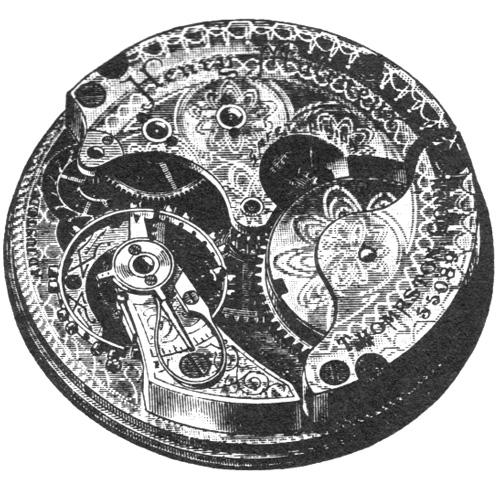 Seth Thomas Pocket Watch Grade Henry Molineux #70540