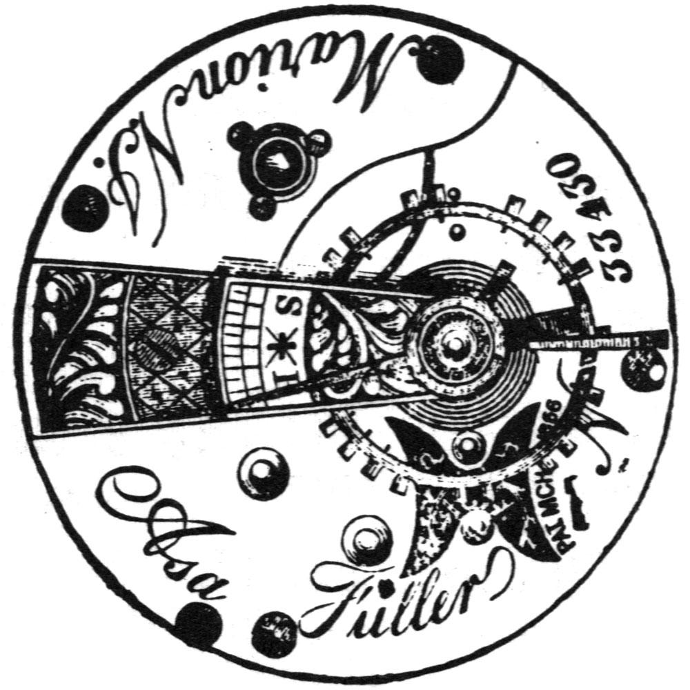 U.S. Watch Co. (Marion, NJ) Grade Asa Fuller Pocket Watch Image