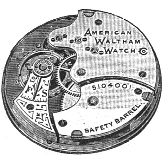 Waltham Grade L Pocket Watch Image