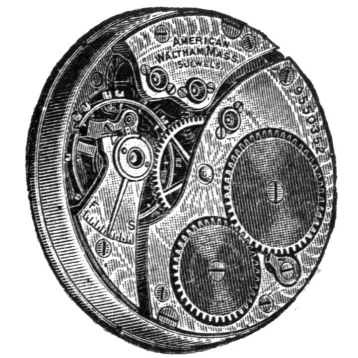 Waltham Grade No. 115 Pocket Watch Image