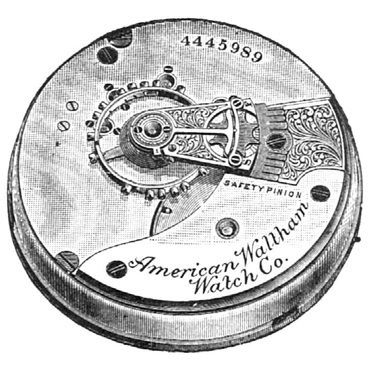 Waltham Grade No. 15 Pocket Watch Image