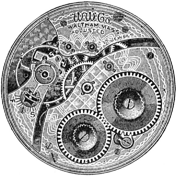 Waltham Grade No. 235 Pocket Watch Image