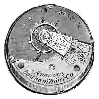 Waltham Pocket Watch Grade No. 3 #5810283