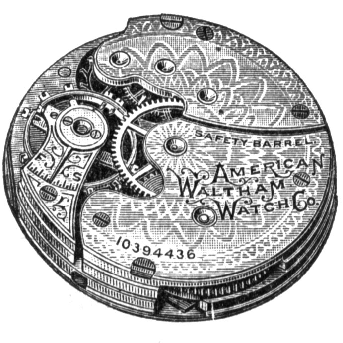 Waltham Grade No. 61 Pocket Watch Image