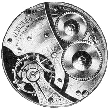 Waltham Pocket Watch Grade No. 610 #12275758