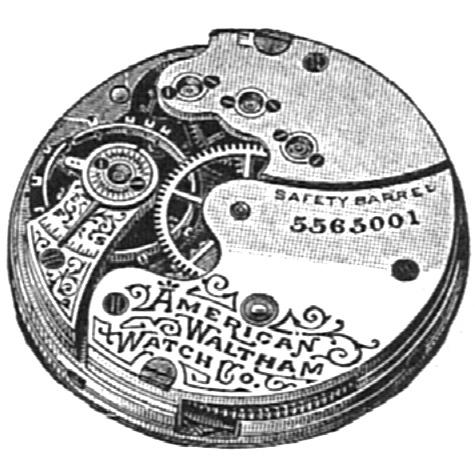 Waltham Grade No. 62 Pocket Watch Image