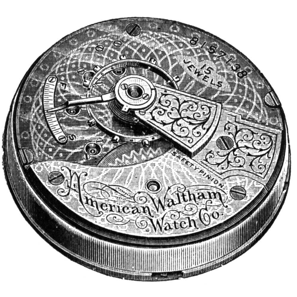 Waltham Pocket Watch Grade No. 820 #12102392