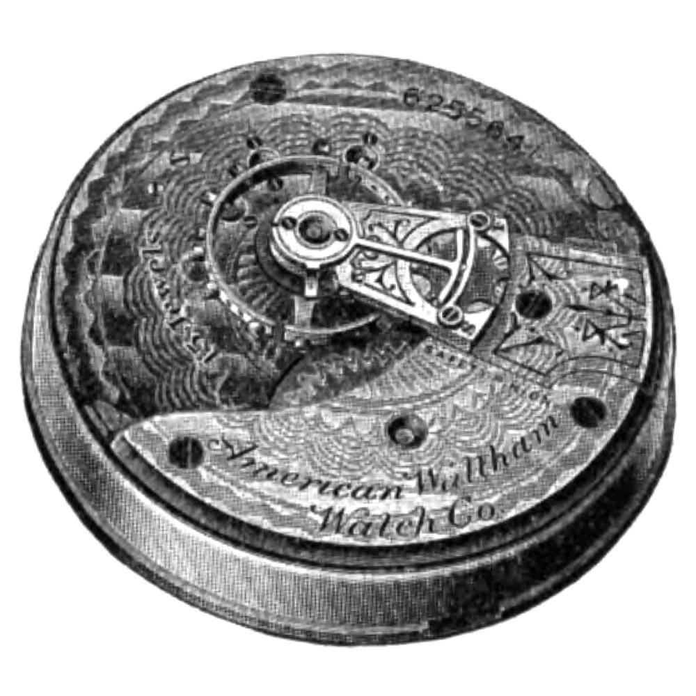Waltham Pocket Watch Grade No. 84 #10826477