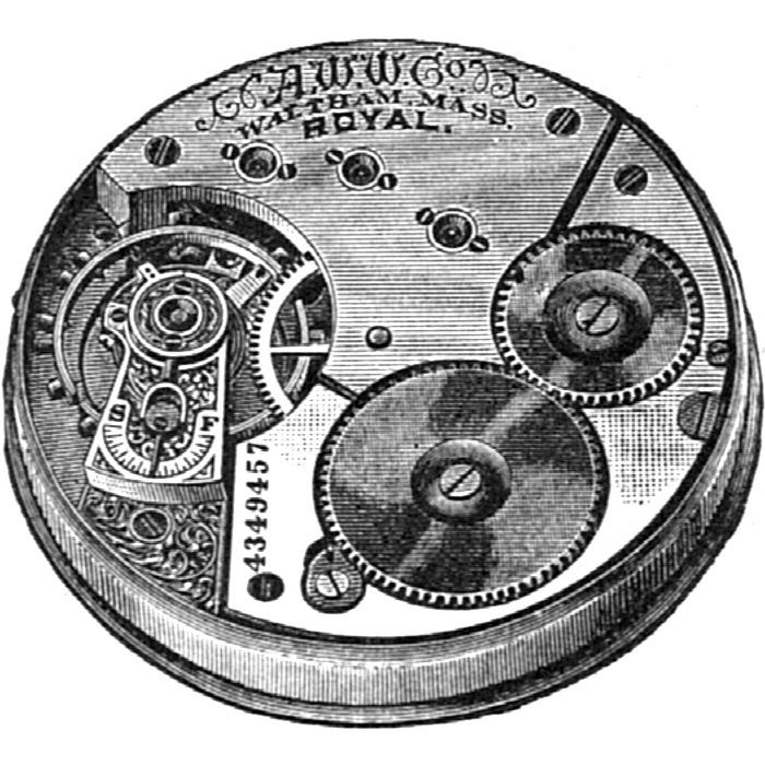 Waltham Pocket Watch Grade Royal #4687050
