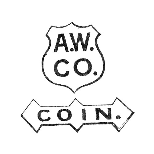 [Shield] A.W.Co. Coin. (American Waltham Watch Co.)