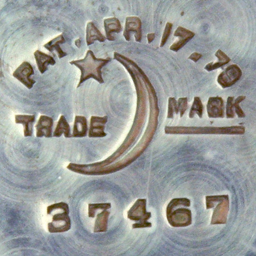 Pat. Apr. 17, 78 Trade Mark [Crescent Moon & Star] (Crescent Watch Case Co.)
