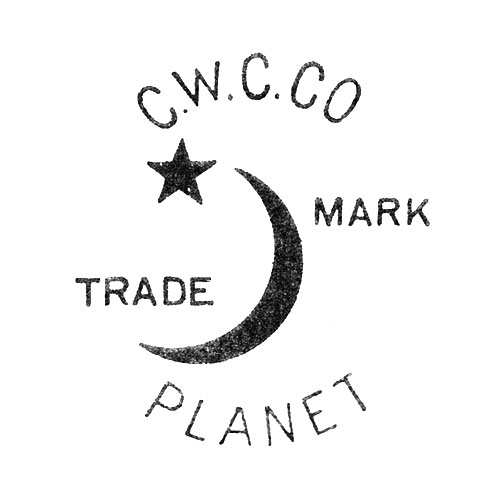 C.W.C.Co. Trade Mark Planet [Crescent Moon and Star] (Crescent Watch Case Co.)