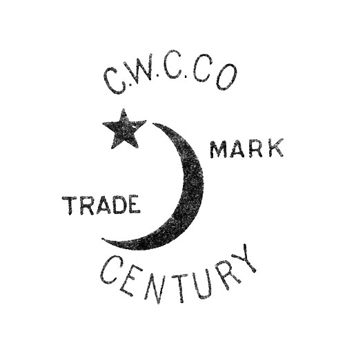 C.W.C.Co. Trade Mark Century [Crescent Moon and Star] (Crescent Watch Case Co.)
