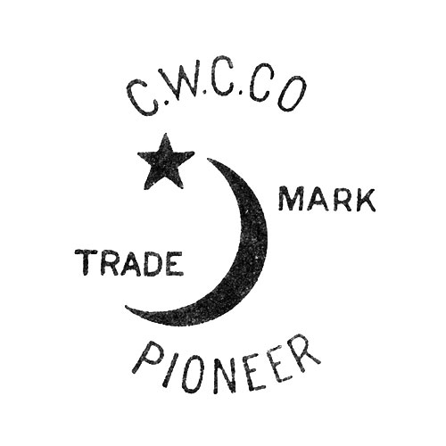 C.W.C.Co. Trade Mark Pioneer [Crescent Moon and Star] (Crescent Watch Case Co.)