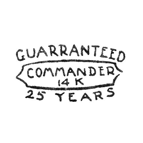 Guaranteed Commander 14K 25 Years (Elgin Giant Watch Case Co.)