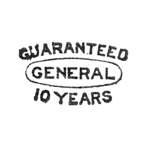 Guaranteed General 10 Years (Elgin Giant Watch Case Co.)