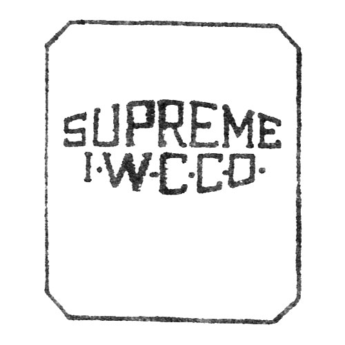 Supreme I.W.C.Co. (Elgin Giant Watch Case Co.)